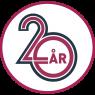 F-I Jubileums logo 20 ar